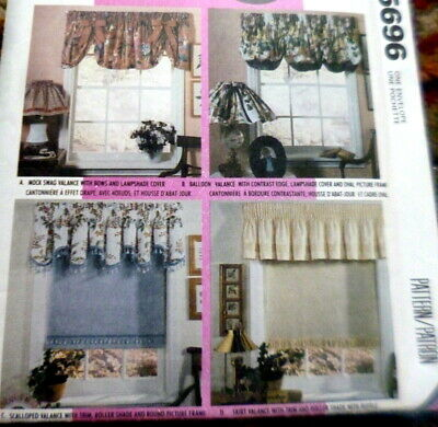 *LOVELY VALANCE CURTAINS McCALLS Sewing Pattern Uncut for sale  Woodland Hills