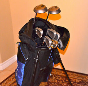 Golf Clubs set with bag in excellent condition