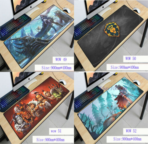 Keyboard Mat Gaming  Mouse Pad Cool And Fashionable World of Warcraft Large WOW