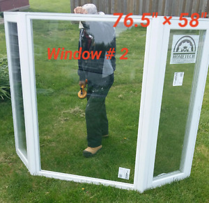 New vinel windows selling at cost