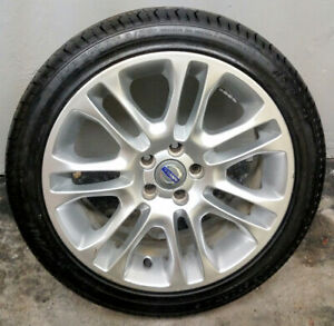 """Volvo S60 S80 V8 18"""" 245-40-ZR18 Mags Wheels With Tires Set Of 5"""