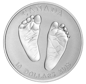 2018 Baby Gift $10 Welcome to the World - Pure Silver Coin