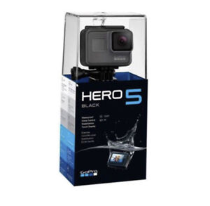 GoPro HERO5 Black Waterproof 4K Camera - New Factory Sealed