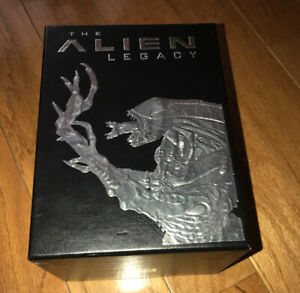 "VHS CULT Sci-Fi Horror MOVIE Boxed Set ""ALIEN"" LEGACY EDITIONS"