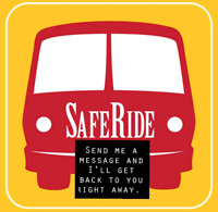 Safe ride home anywhere in Wpg....