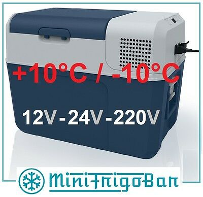 Mini Frigo Congelatore Portatile da Viaggio Frigorifero per AUTO a 12V 24V 220V