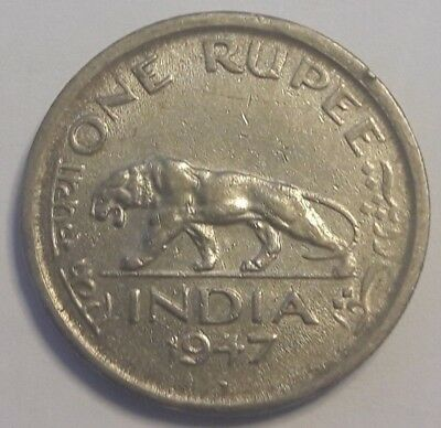 1947 India Rupee, Colony, Ghandi, Year of Independence From British Empire