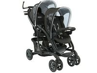 Brand new graco quatro sport luxe double pushchair