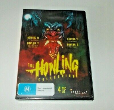 Halloween 5 Part 4 (The Howling Collection dvd Region 4 Brand New & Sealed parts)