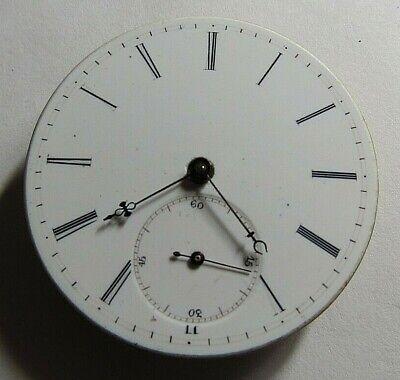 VINTAGE SWISS POCKET WATCH KEY WIND MOVEMENT DIAL: 38.50mm @
