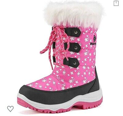 Toddler Girl Nordic Winter Snow Boots kids size 12