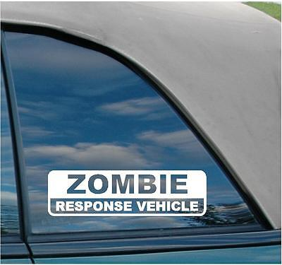 Zombie Response Vehicle Funny Decal weapon xd ar15 ak47 on Rummage (1/1)