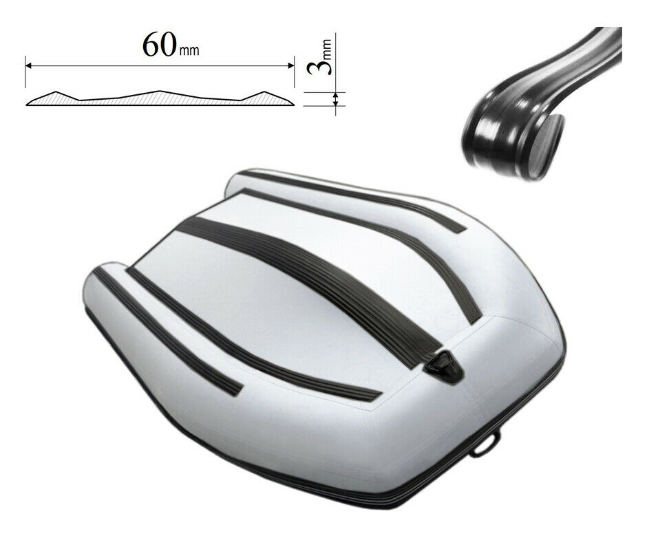 60mm Inflatable boat bottom PVC protective fender guard