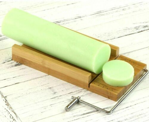 Wooden Soap Loaf  Cutter Tools Also for Cake Chocolate Durable Stainless Steel