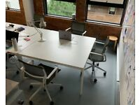 IKEA Bekant boardroom/meeting/conference/office/2-pod bench table/desk £99 each