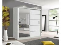Brand New Wardrobes Available For Delivery Or Collection. All FlatPacked.
