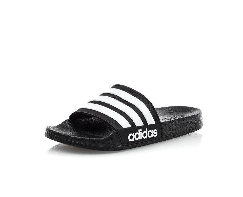 Adidas CF Adilette Slides Sandal  Slippers AQ1701 Black/Whit