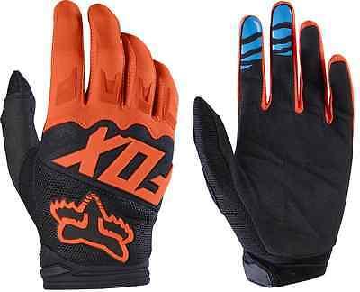 (Fox Dirtpaw Race Adult MX ATV Motorcycle Off Road Orange Gloves 17291-009)