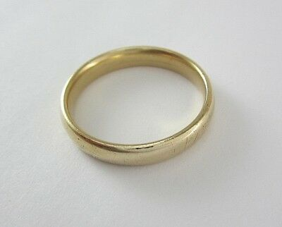 ARTCARVED MENS 14K YELLOW GOLD WEDDING BAND; 5.2G ()