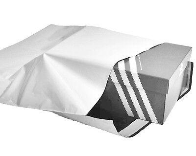 10 LDPE Versandtaschen Versandtüten Flachbeutel Tüten 43 x 60 cm weiß