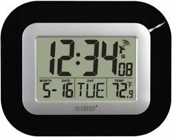 Atomic All Clock Alarm with Self Setting Time Date Automatically Update BRANDNEW