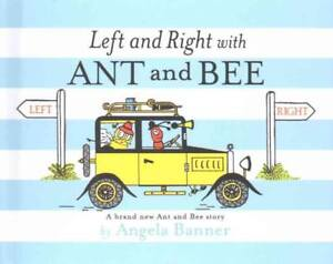 Banner  Angela-Left And Right With Ant And Bee  BOOKH NEU