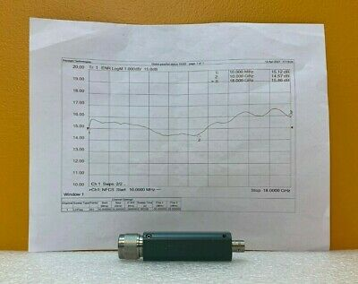 Microwave Semiconductor Corp Msc Mc7040p 10 Mhz To 18 Ghz Noise Source. Tested