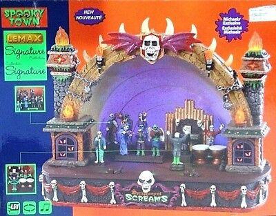 Lemax Halloween Spooky Town Symphony Of Screams Amphitheater  New (Halloween Symphony)
