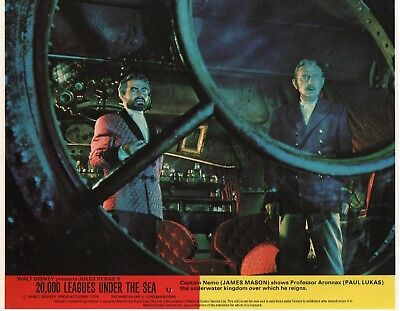 20,000 LEAGUES UNDER THE SEA  lobby card print # 5 JAMES MASON