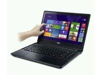 Acer Aspire Touch E-14 E5-471p-30jj Laptop Core i3 4GB 500GB, HD Touchscreen BRAND NEW