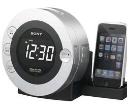 Sony Dream Machine Alarm Clock CD Player Radio iPod Dock Model iCF-CD3iP