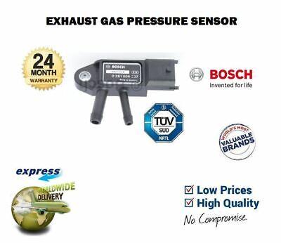 FOR VOLVO S60 S80 D5 D3 D4 AWD 2.4D DIESEL 2010--> DPF EXHAUST PRESSURE SENSOR