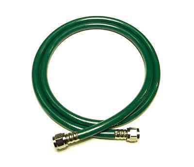 Caretech Green Medical Oxygen O2 Hose 6 Foot Wdiss Fittings Ventilator Impact