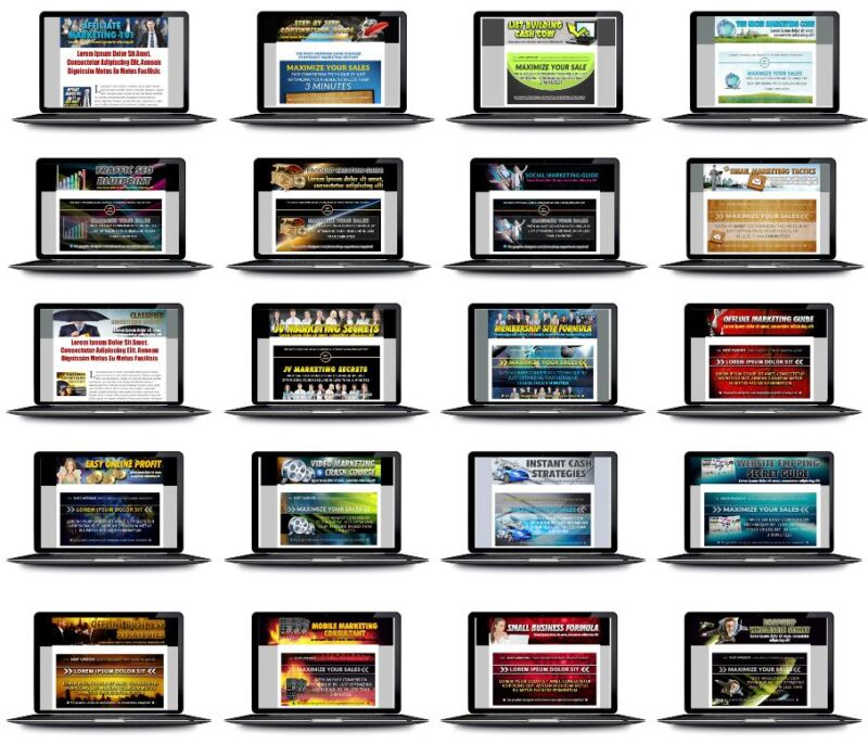 20 POWERFUL AFFILIATE OR JV PAGES TEMPLATES on CD