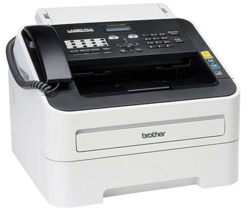 Brother IntelliFax-2840 High Speed Mono Laser Fax Machine (FAX-2840)