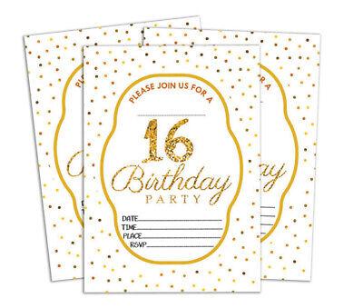 Druckbare Karten (Geburtstag Einladungskarte Druckbare elegante Party lädt 28 Stück-DS-IN156A)