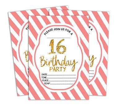 Druckbare Karten (Geburtstag Einladungskarte Druckbare elegante Party lädt 28 Stück-DS-IN155A)