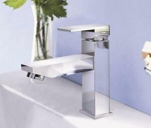 Mixer bathroom faucet, chrome finish, one handle, one hole, NEW IN BOX