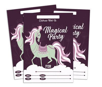 Druckbare Karten (Geburtstag Einladungskarte Druckbare elegante Party lädt 28 Stück-DS-IN131A)