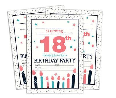 Druckbare Karten (Geburtstag Einladungskarte Druckbare elegante Party lädt 28 Stück-DS-IN170A)