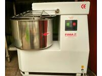 Commercial Fima spiral dough mixer catering equipment.