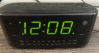 GE Large Display Digital Alarm Clock RADIO 74852A