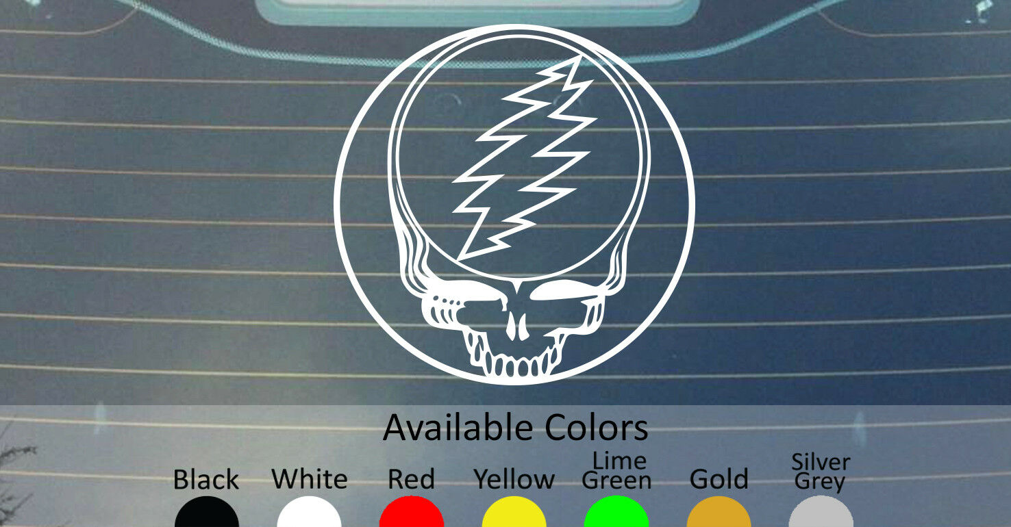Home Decoration - GRATEFUL DEAD VINYL DECAL STICKER CUSTOM SIZE/COLOR