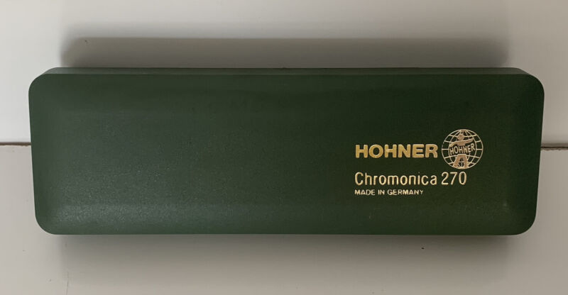 Beautiful M. Horner Chromonica 270 Hormonica In Original Hard Case