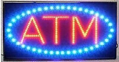 - LED Neon Light Animated Motion ATM Business Sign LB86