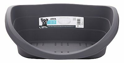 M-Pets Java Grey Gray Dog Bed Grey 24-inch New