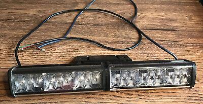 Federal Signal Cuda Cudatrioptic Model 351012 Led Lights - R B