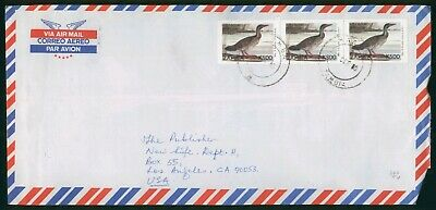 Mayfairstamps Zambia 1980 to Los Angeles CA Bird Block Cover wwo_58181