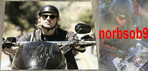 """CHARLIE HUNNAM SIGNED AUTOGRAPH SONS OF ANARCHY """"JAX"""" 11x14 PHOTO w/EXACT PROOF"""