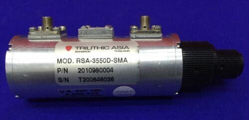 TRILITHIC ASIA MOD. RSA-3550D-SMA / PN 201980004 STEP ATTENUATOR
